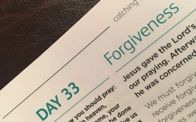 Forgiveness – reflections from Graham Chastney | Day 33 | catching the wave | Focus on 40