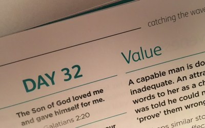 Identify Yourself – reflections from Andrew Gardner | Day 32 | catching the wave | Focus on 40