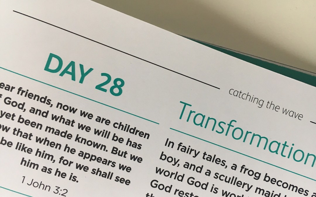 Transforming change  – reflections from Andrew Gardner | Day 28 | catching the wave | Focus on 40