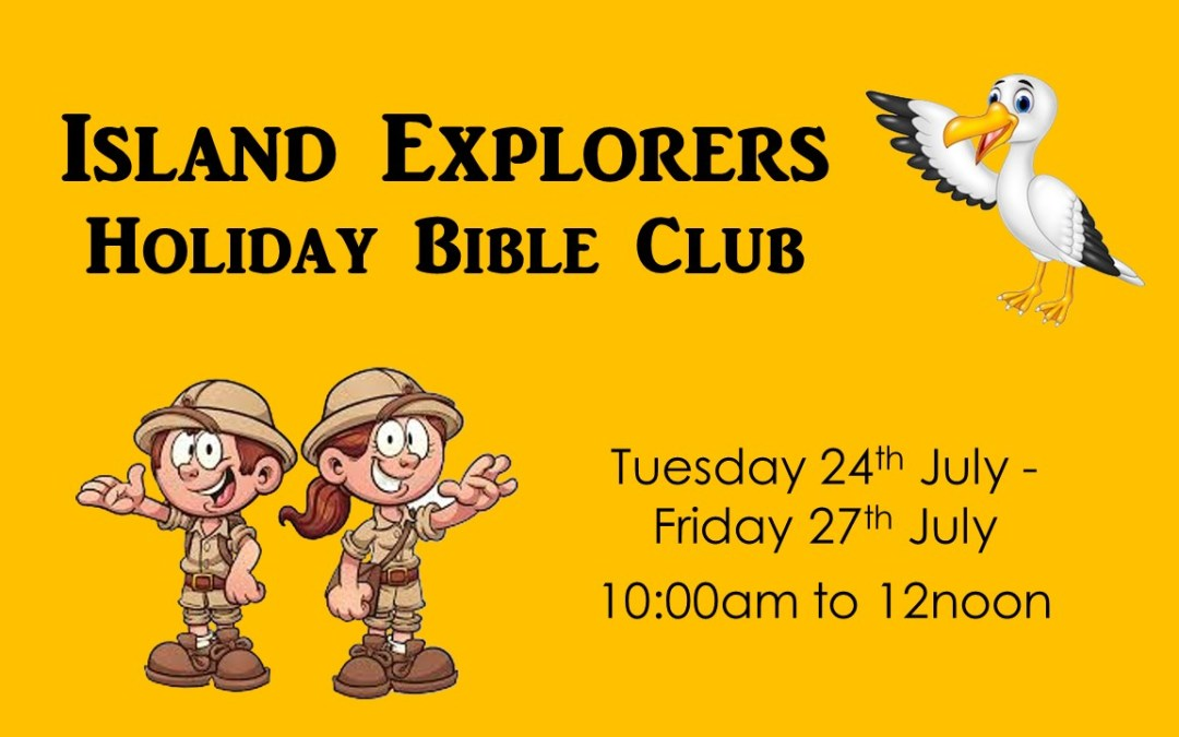 Island Explorers | Holiday Bible Club