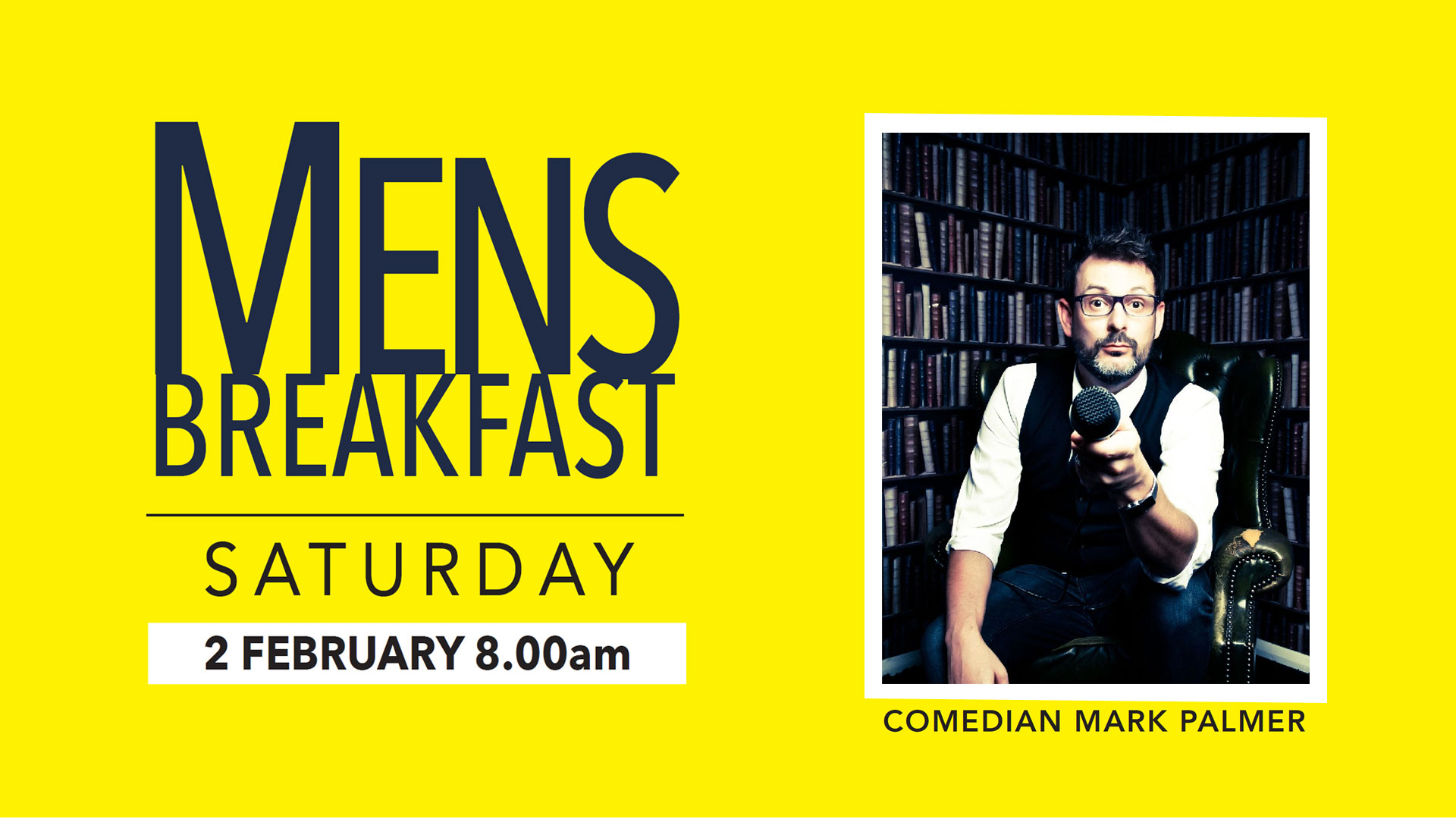 Mark Palmer | Men's Breakfast
