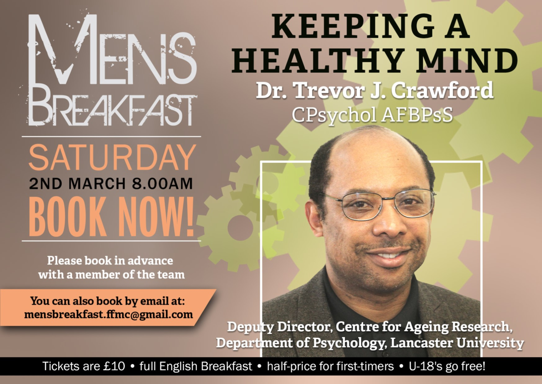 Keeping a Healthy Mind with Trevor Crawford | Men's Breakfast