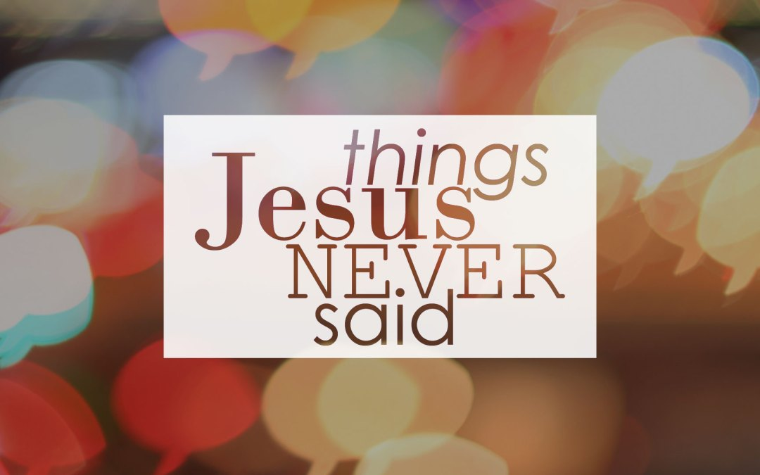 Things Jesus Never Said – Come to Me and All Your Problems Disappear | John 16, 1 Peter 1, James 1, 1 John 5 | Ian Higginbotham