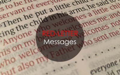 Red Letter Messages – The Future | Luke 17:20-37 and Luke 21:25-28 | Andrew Gardner
