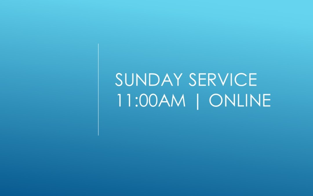 Communion Service | Sunday 3rd January 2021 @ 11:00am | Online
