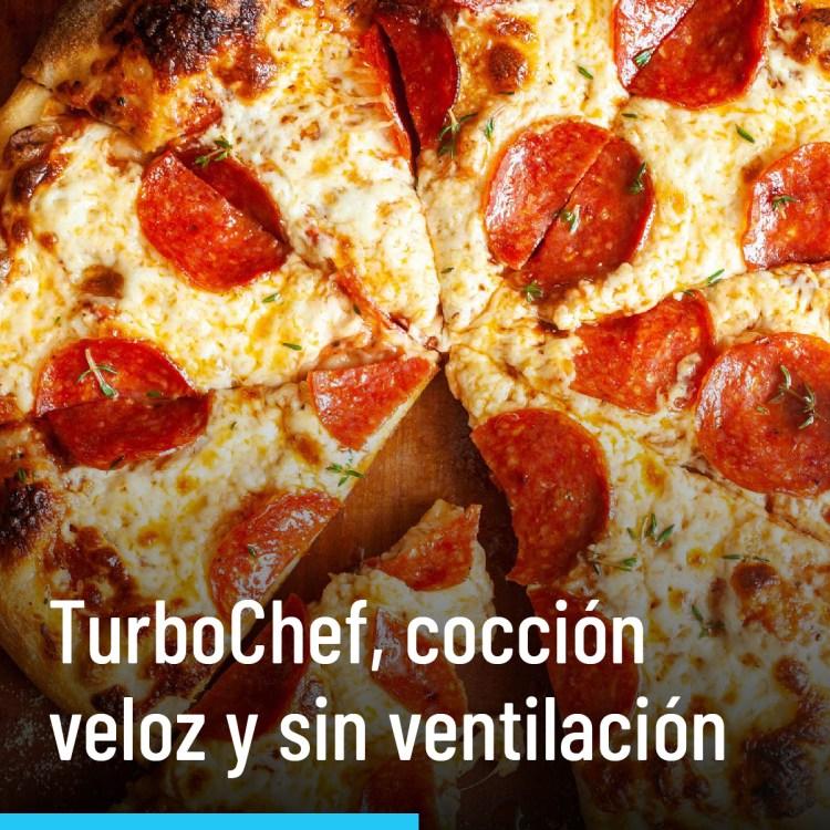TurboChef, cocción veloz y sin ventilación