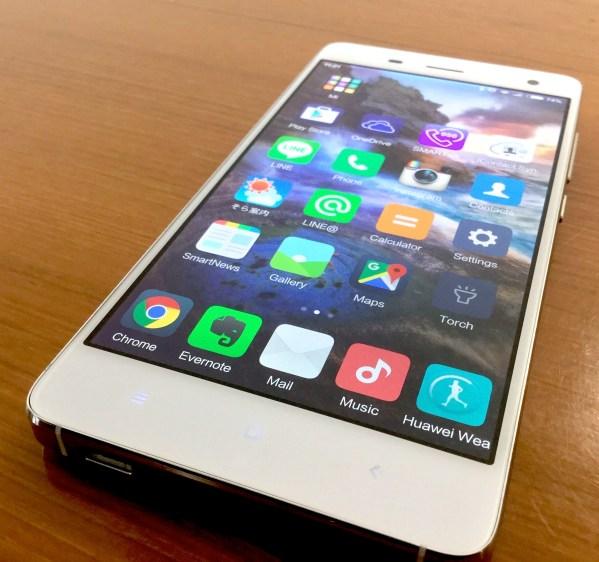 Xiaomi シャオミ MIUI7 レビュー Mi4  Mi5