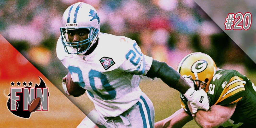 Fumble na Net 020 - Barry Sanders