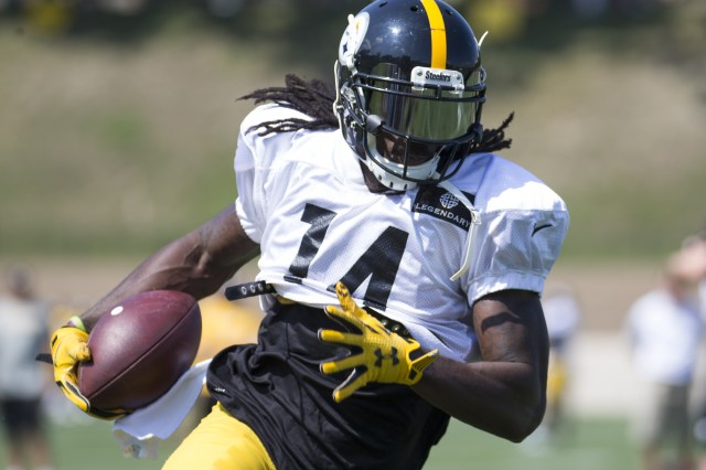 Sammie Coates Training Camp Semana 1 da pré-temporada 2016
