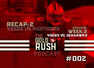 Semana 2 49ers vs Panthers