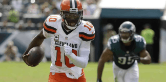 robert griffin iii colocado na injury reserve list