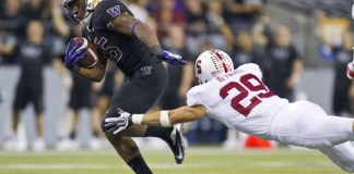 Temporada 2016 da PAC-12 Washington Huskies bateu o Stanford Cardinals