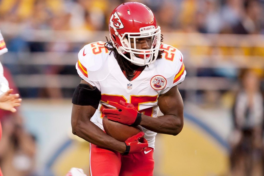 Chiefs dispensa Jamaal Charles