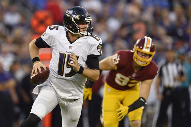 Mallett Enfrentando Washington Redskins