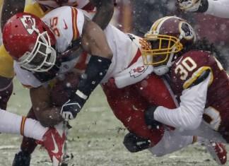 Pré Jogo - Redskins x Chiefs