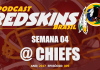 Redskins vs Chiefs - Semana 4 Temporada 2017
