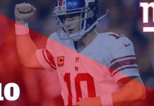 Giants vs Broncos/Seahawks - Semanas 6 e 7 Temporada 2017