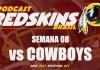 Cowboys vs Redskins – Semana 8 – Temporada 2017