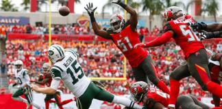 Tampa Bay Buccaneers vencem o New York Jets por 15x10
