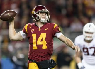 Sam Darnold, quarterback da universidade USC