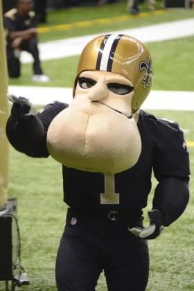 Sir Saint, mascote do New Orleans Saints