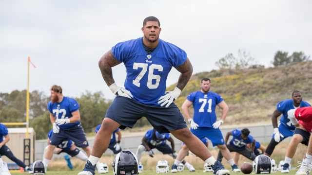 Roger Saffold no training camp
