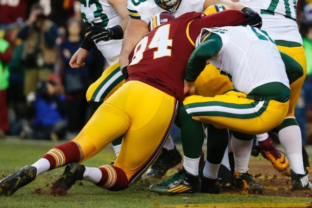 Washington Redskins vs Green Bay Packers