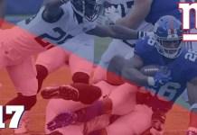 Giants vs Jaguars Semana 1 2018
