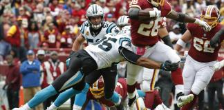 Redskins vs Panthers Semana 6 NFL