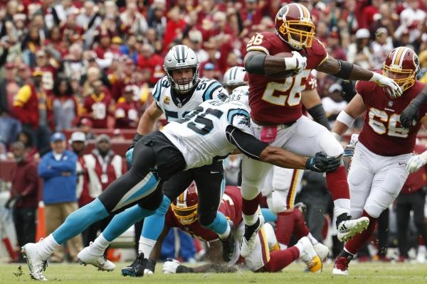 Redskins vs Panthers Semana 6 2018