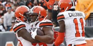 Pós Jogo Browns 35 x 20 Bengals