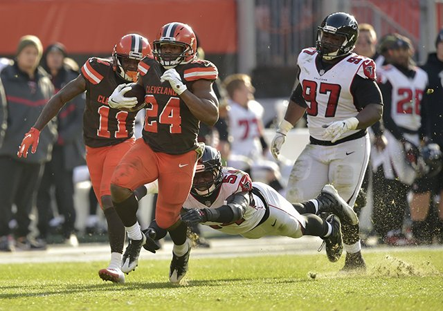 Pós Jogo Falcons 16 x 28 Browns