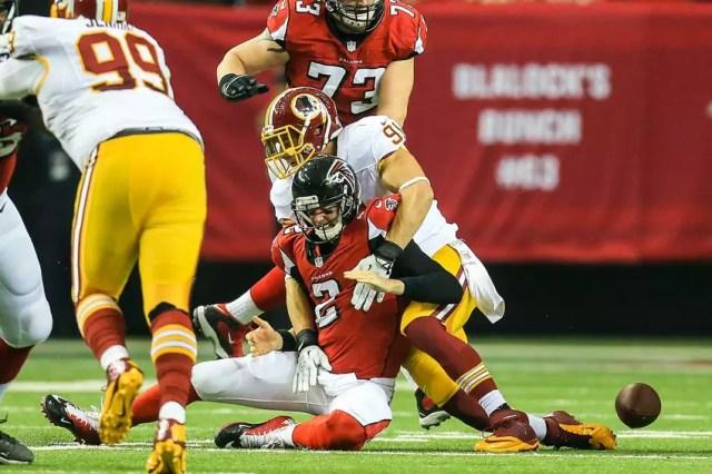 Redskins vs Falcons