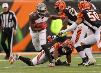 Bengals 37 x 34 Tampa Bay Buccaneers week 8