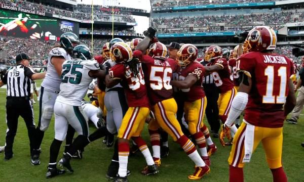 Redskins at Eagles: Pré jogo