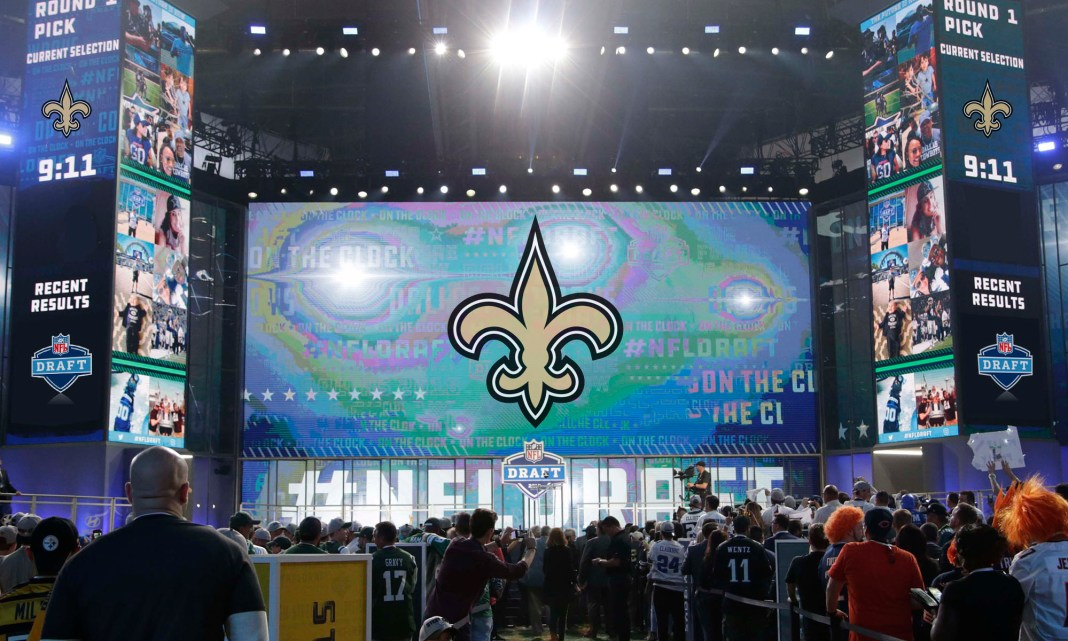 Geaux Saints 2019 NFL Draft