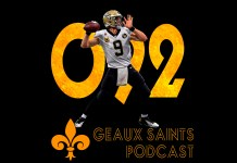 Quarterback Saints 2019