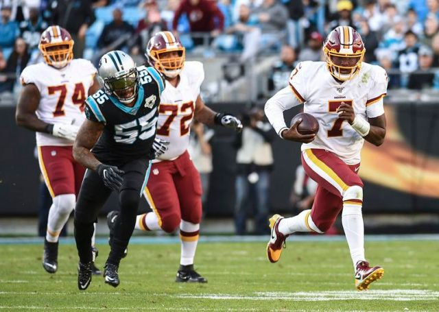 Podcast Redskins at Panthers