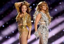 Shakira e Jennifer Lopez no Show do Intervalo