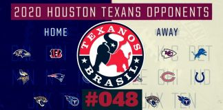 Calendário Texans 2020