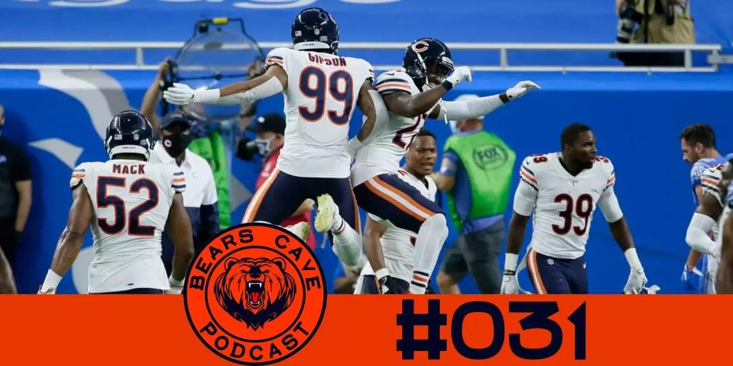 Bears vs Lions Semana 1 2020