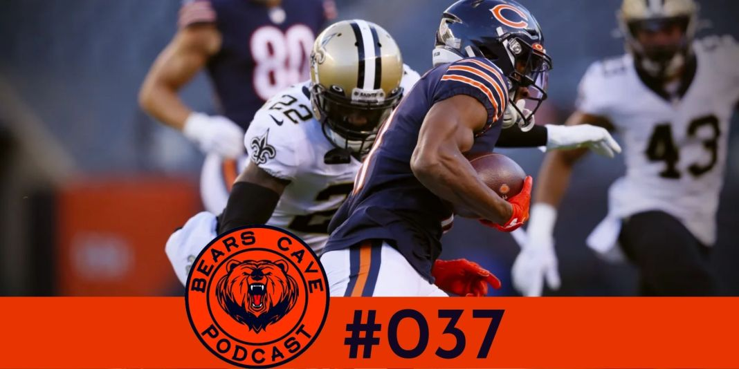 Bears vs Saints Semana 8 2020
