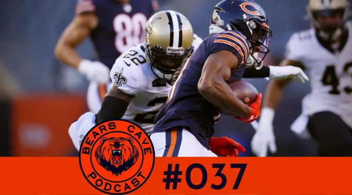 Bears vs Saints Semana 8 2020