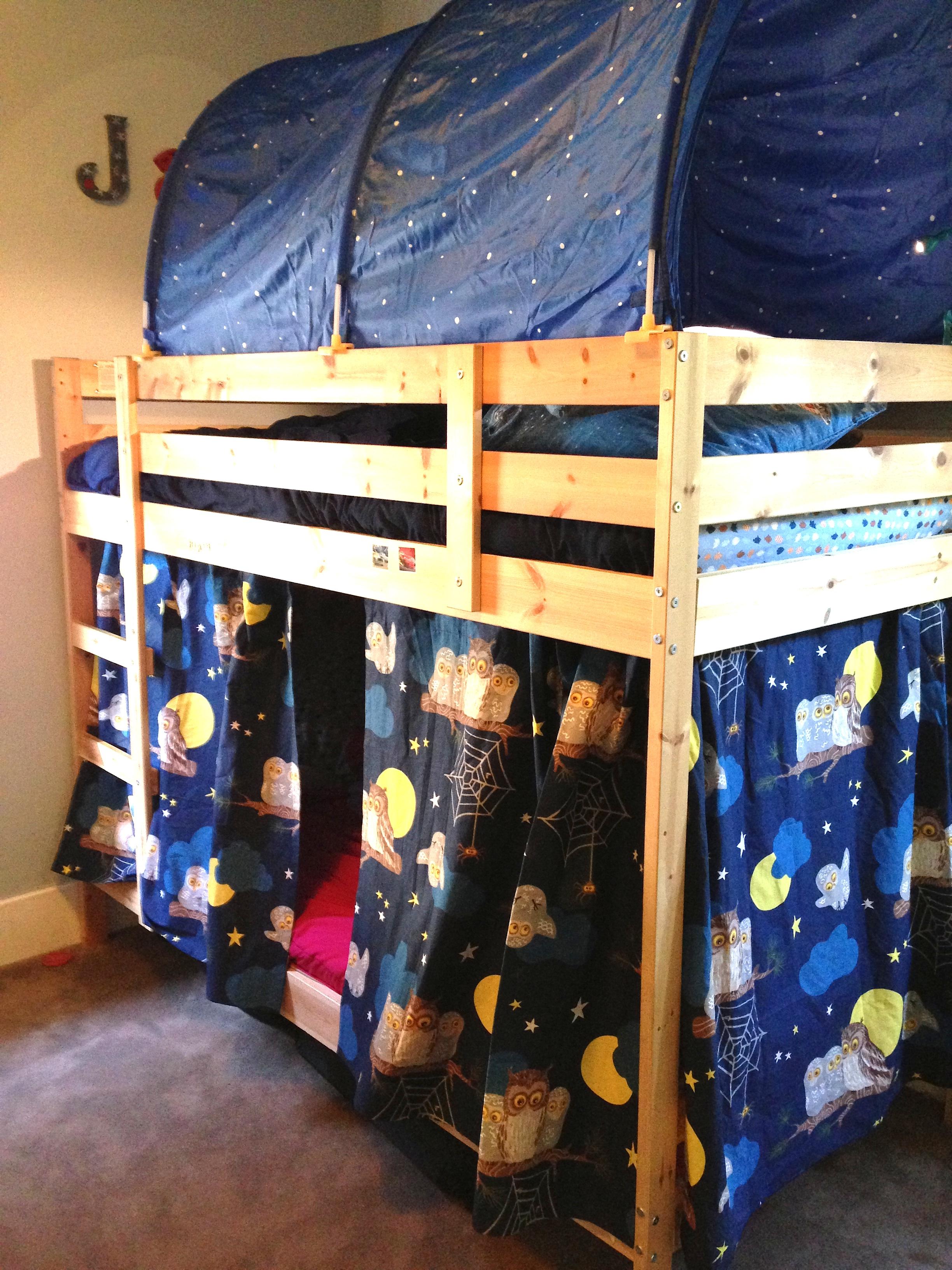 bunk bed forts fumbleweeds
