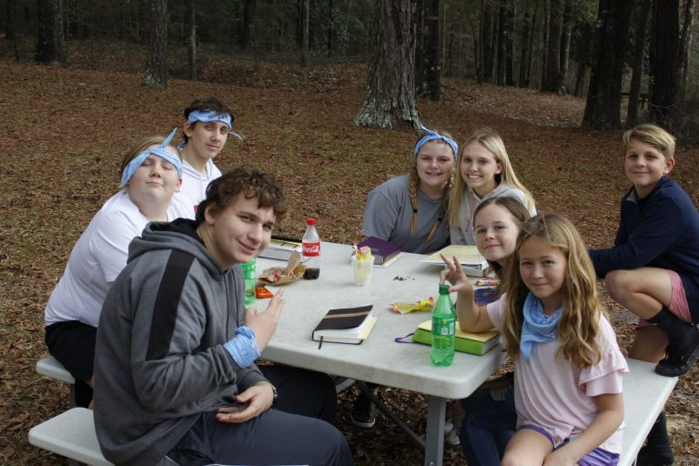 Small Group at Winter Retreat