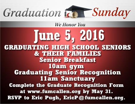 Senior Sunday 2016