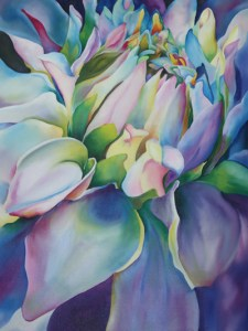 """Blue Blossom"" by Martha Peacock"