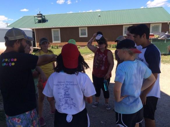 Little group bonding game