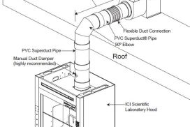 Fume Hood Exhaust System Diagram