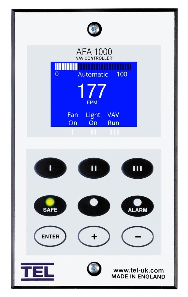 Variable Air Volume Fume Hood Controller